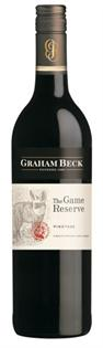 Graham Beck Pinotage The Game Reserve...